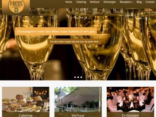 Homepage Catering Fred Paap te Zandvoort